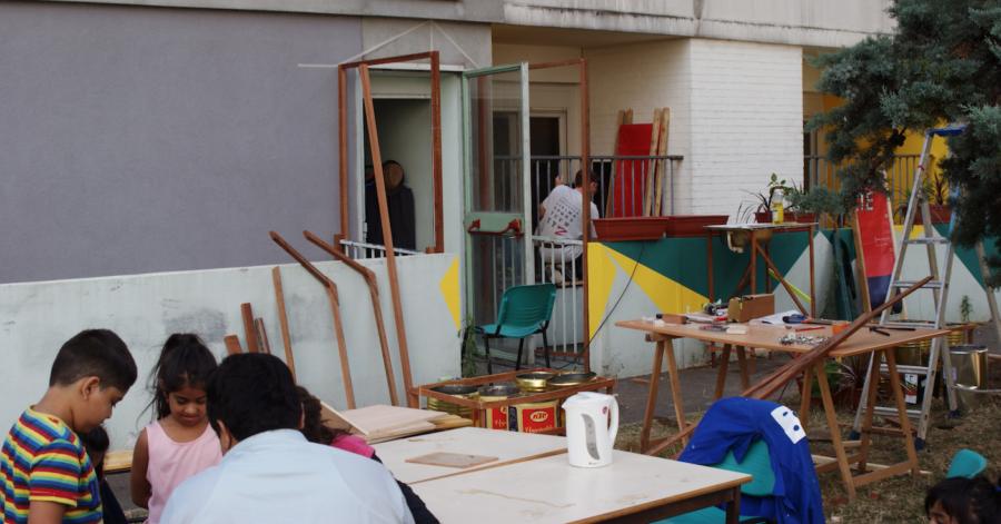 Co-construire sur le quartier: une association impliquée